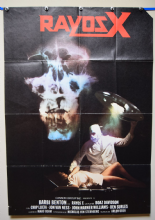 Hospital Massacre aka X-Ray Horror Poster - Spanish One Sheet